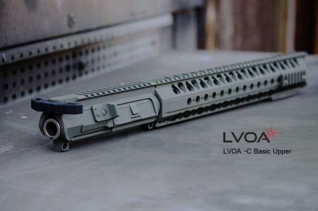 War Sport Industries, LLC LVOA AR upper receiver group.