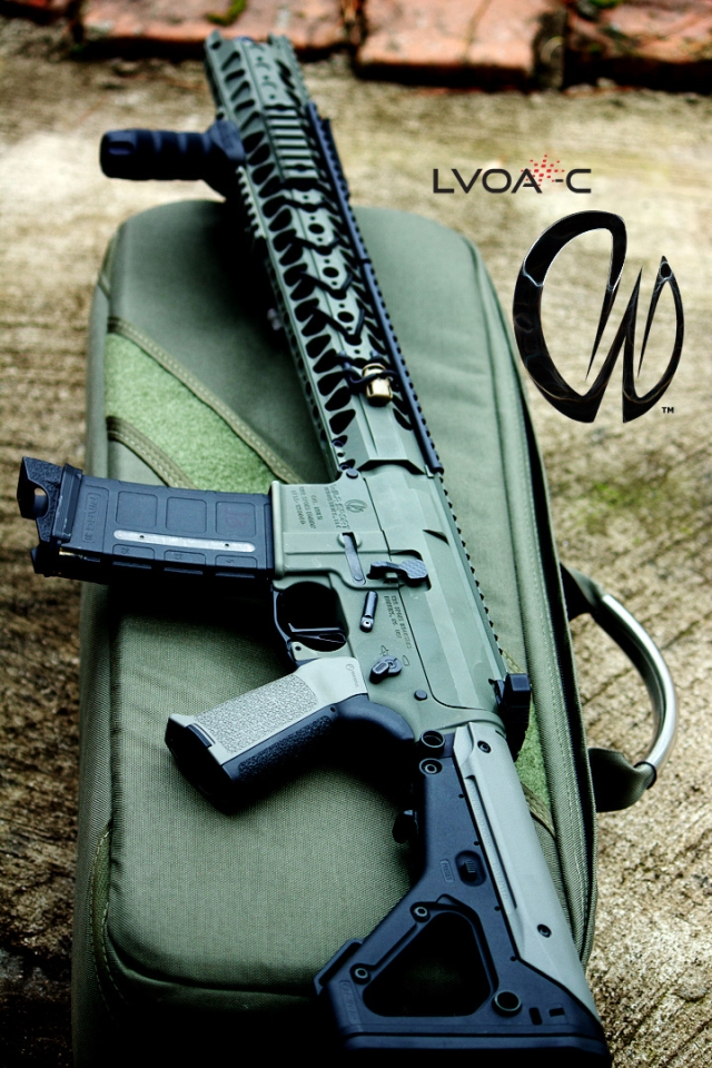 War Sport Industries LLC LVOA rifle.